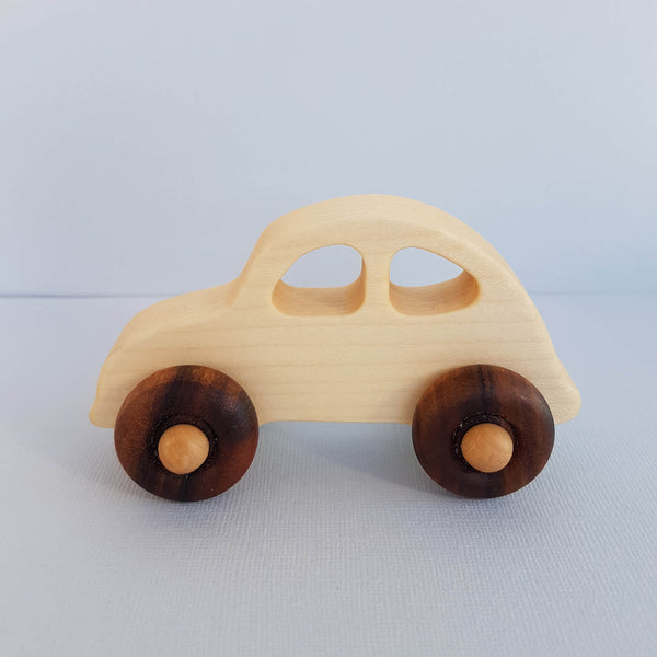 Wooden Story Natural Little '30s  Car Handcrafted in Poland