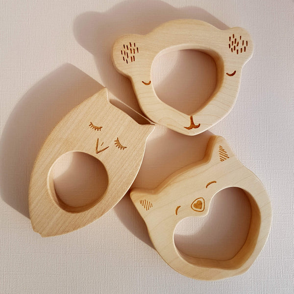 Koala Bear Teether Handcrafted - Unik by Nature