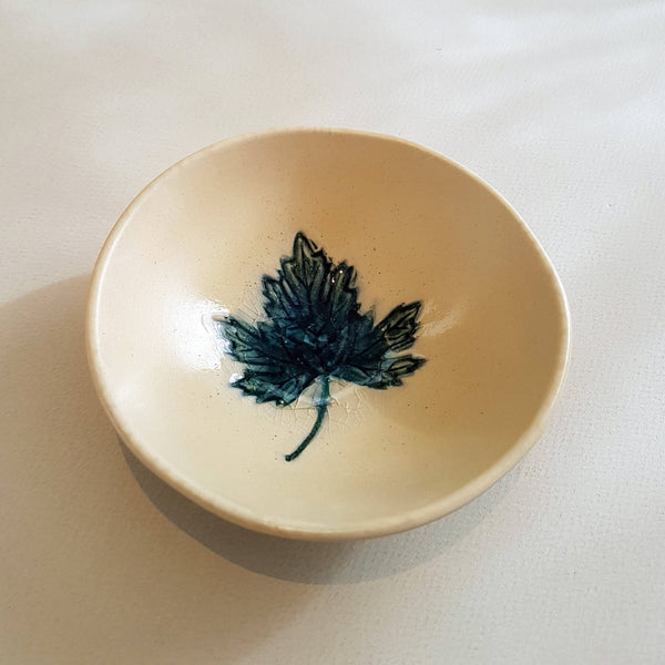 UNC Amsterdam Bowl A Story of Nature Handmade Leaf Déco - Unik by Nature