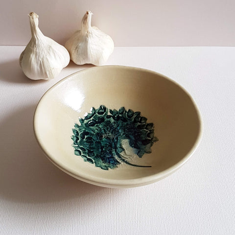 UNC Amsterdam Bowl A Story of Nature Handmade in Portugal Flower Déco - Unik by Nature