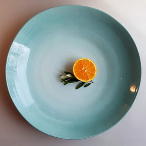 UNC Amsterdam XL Serving Bowl Handmade in Italy - Celadon - Unik by Nature