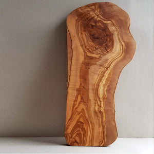Van Verre Sustainable Olive wood Handmade Cutting Board or Serving Platter Size L - Unik by Nature