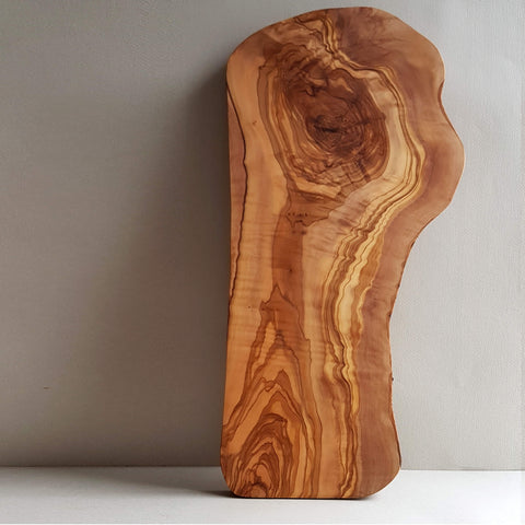 Van Verre Sustainable Olive wood Handmade Cutting Board or Serving Platter Size L