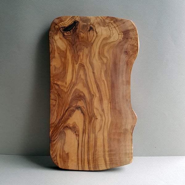 Van Verre Sustainable Olive wood Handmade Cutting Board or Serving Platter Size M - Unik by Nature