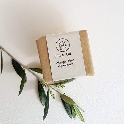 Wild Sage & Co Olive Oil Soap Sensitive Skin - Unik by Nature