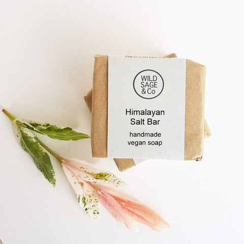 Wild Sage & Co Himalayan Salt Bar Soap - Unik by Nature