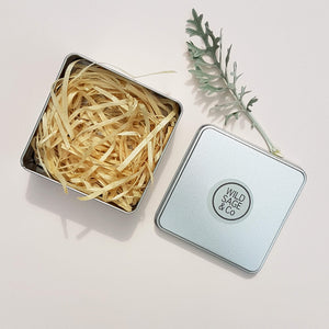 Wild Sage & Co Soap Travel Box with Wood Wool - Unik by Nature