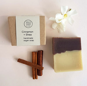 Cinnamon and Shea butter Bar Soap - Unik by Nature