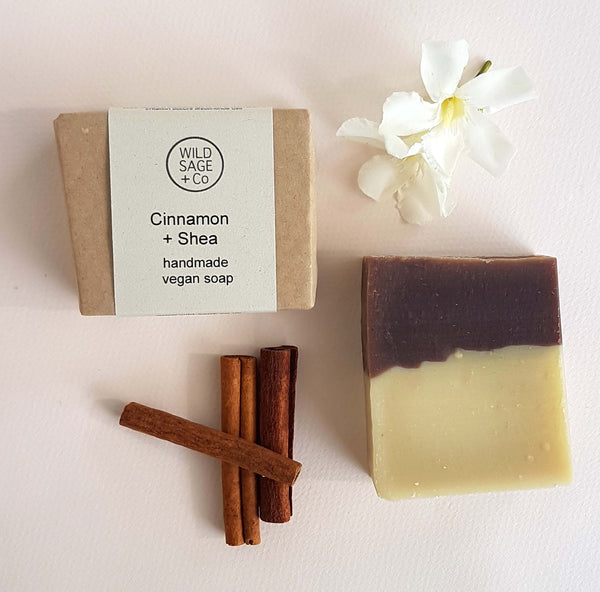 Wild Sage & Co Cinnamon and Shea butter Bar Soap - Unik by Nature