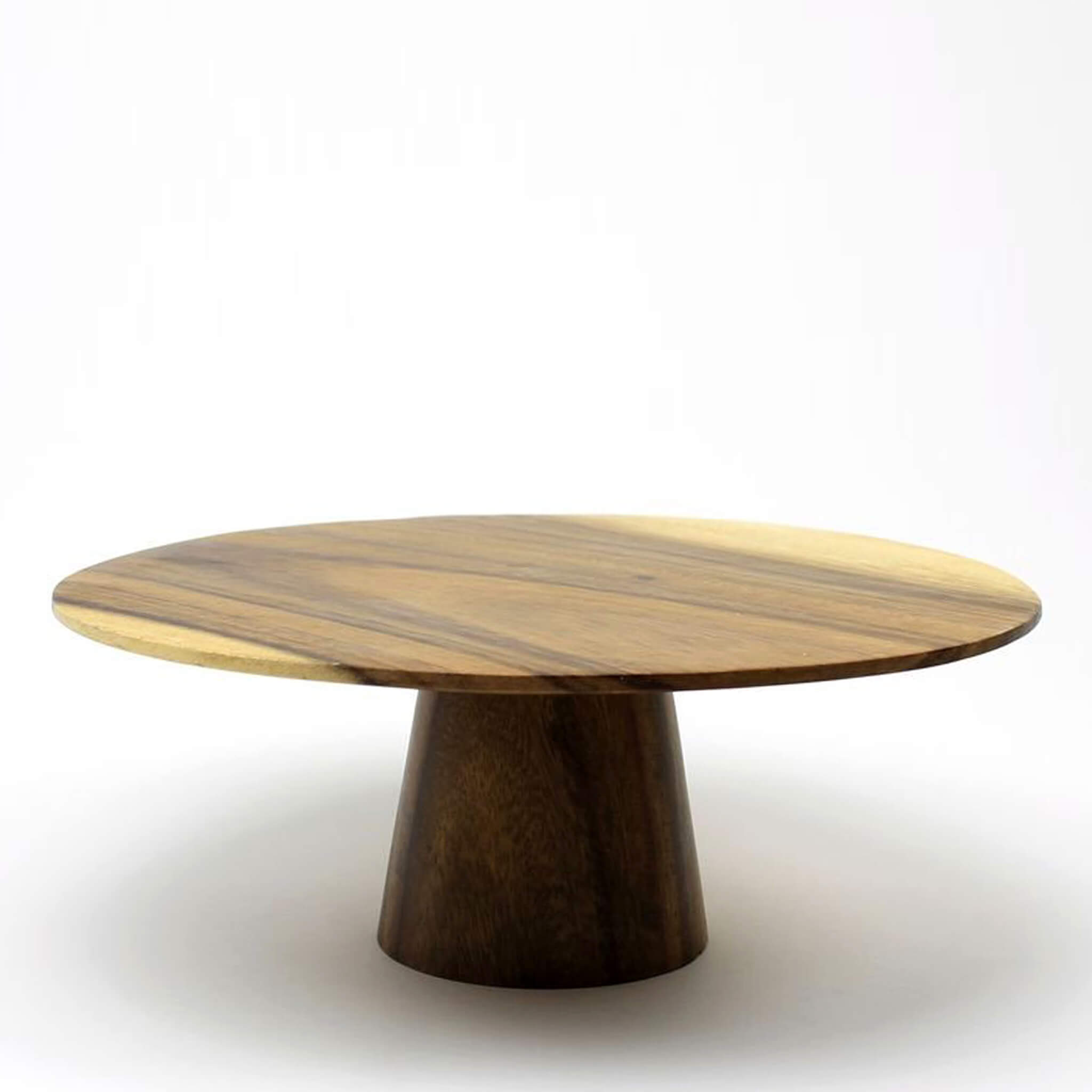 Eat your cake - Acacia wood cake stand - Unik by Nature