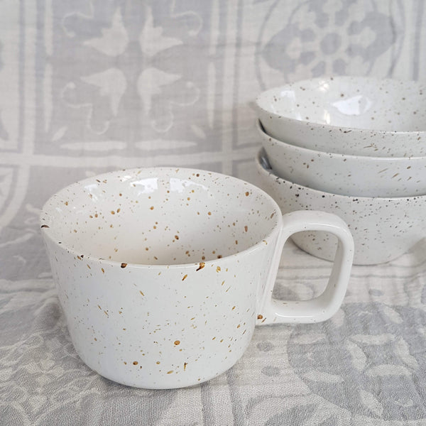 Mug Lovely freckles - large size - Unik by Nature
