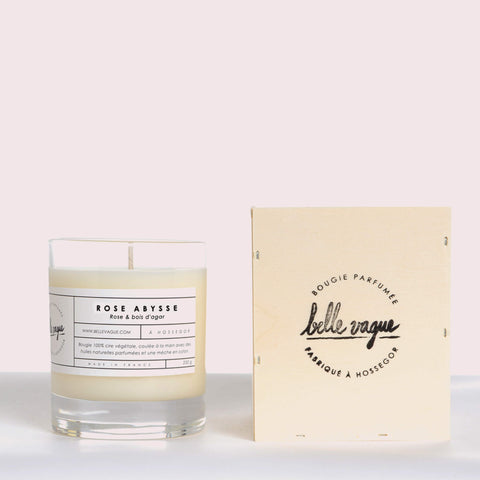 Rose Abysse Scented Candle - Unik by Nature