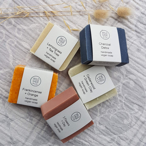 Cedarwood + Green Clay Bar Soap - Unik by Nature