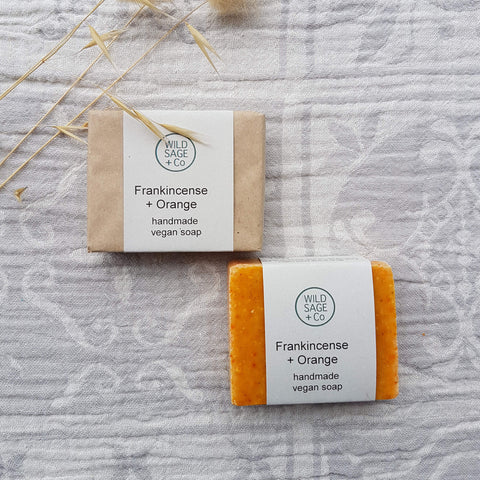 Frankincense + Orange Bar Soap - Unik by Nature