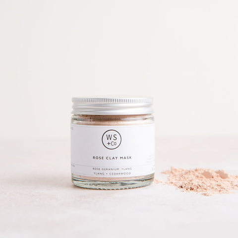 Rose Clay & Honey Face Mask - Unik by Nature