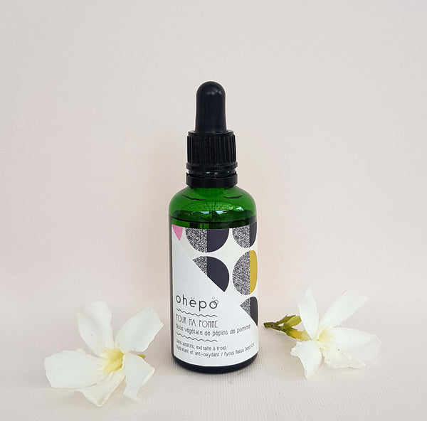 Virgin Apple Seed facial oil Pour ma Pomme - Unik by Nature