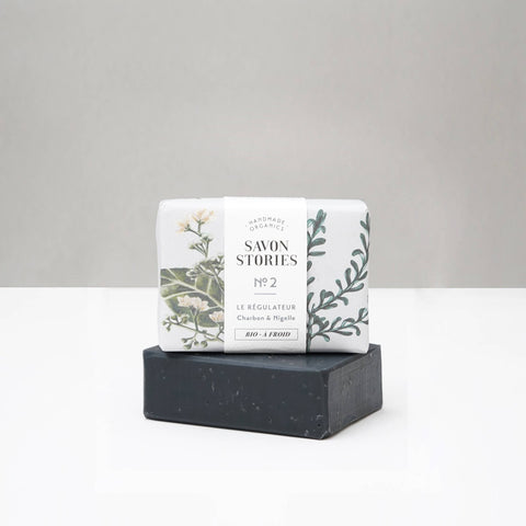 N°2 Organic Charcoal Problem Solver Bar Soap - Unik by Nature