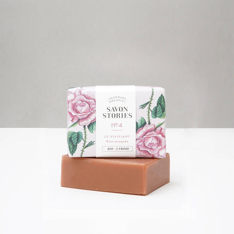 N°4 Organic Pink Clay Rejuvenator Bar Soap - Unik by Nature