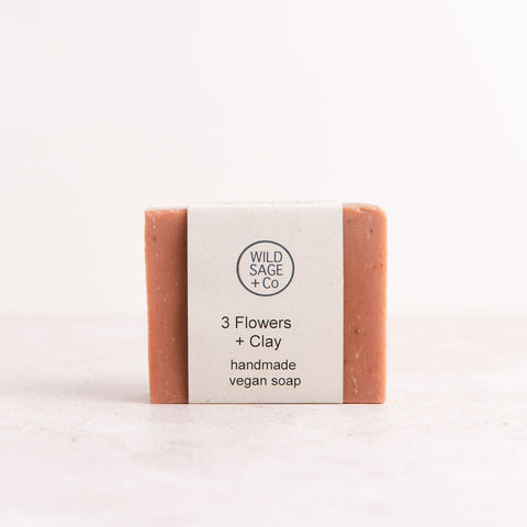 Three Flowers + Clay Bar Soap - Unik by Nature