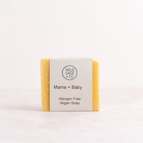 Mama + Baby Bar Soap Sensitive Skin - Unik by Nature