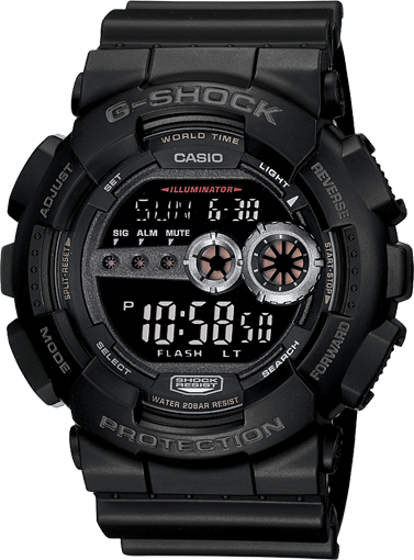 G-Shock Digital GD100-1B