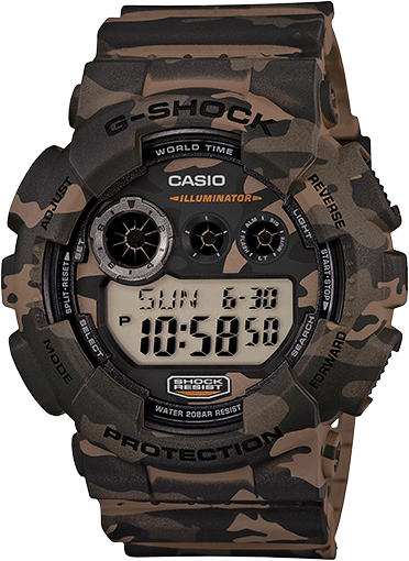 G-Shock Digital GD120CM-5