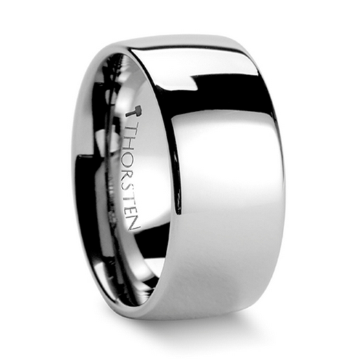 DOMINUS Domed Tungsten Carbide Ring - 10mm - 12 mm