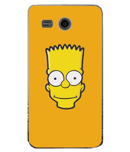Phone Case Bart Face HUAWEI Ascend Y511