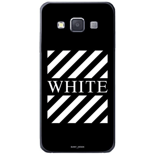 Phone CaseBlach White Stripes SAMSUNG Galaxy A3 - Guardo - Guardo,
