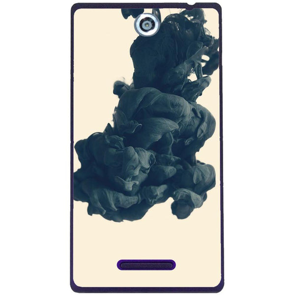 Phone Case Black Ink Sony Xperia C C2305