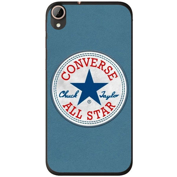 Phone Case Blue Converse HTC Desire 728