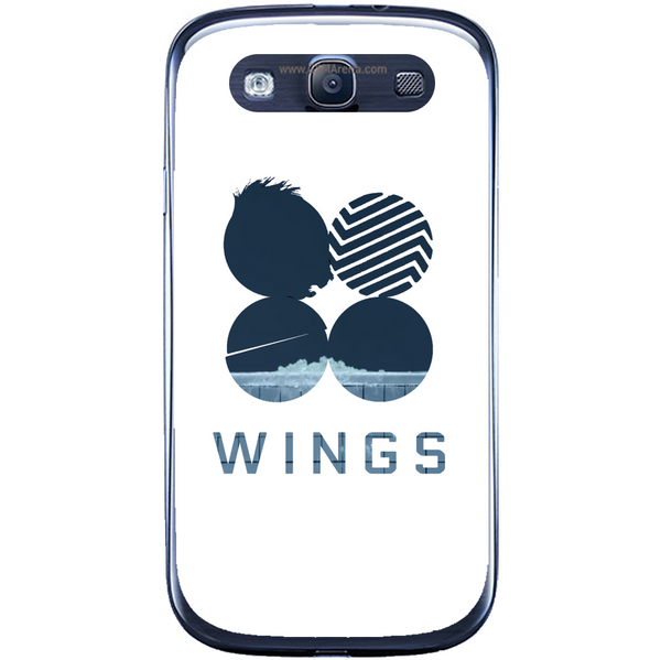 Phone Case Blue Wings Samsung Galaxy S3 Neo I9301 S3 I9300