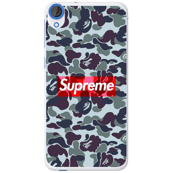 Phone Case Dark Supreme Camo HTC Desire 820