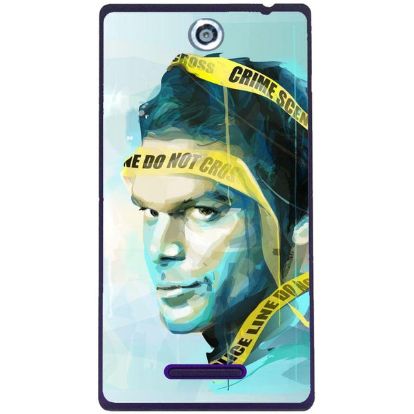 Phone Case Dexter Painting Sony Xperia C C2305