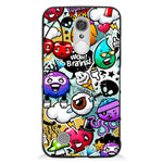 Phone case Graffiti LG K8 2017