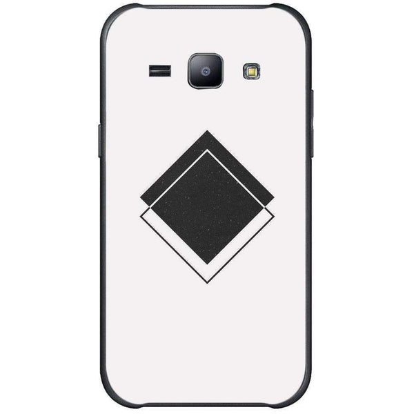 Phone Case Abstract Black Shape SAMSUNG Galaxy J1 Ace