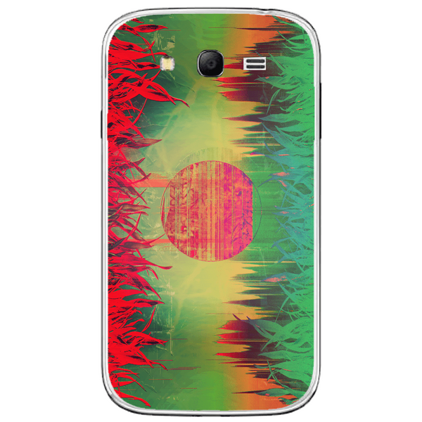 Phone Case Abstract Glitch Art SAMSUNG Galaxy Grand