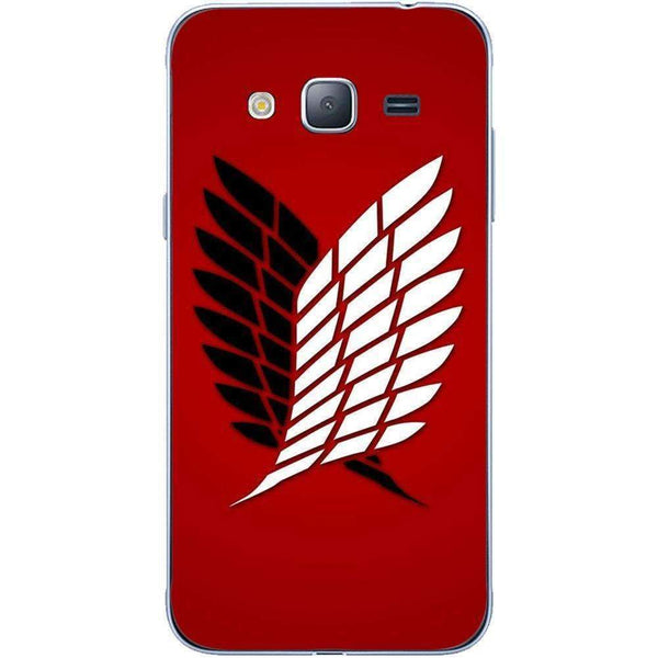 Phone Case Attack On The Titan Red SAMSUNG Galaxy J3