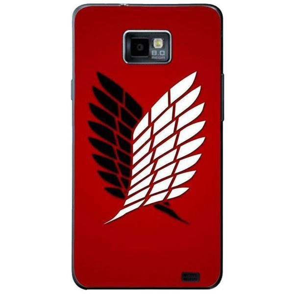 Phone Case Attack On The Titan Red SAMSUNG Galaxy S2