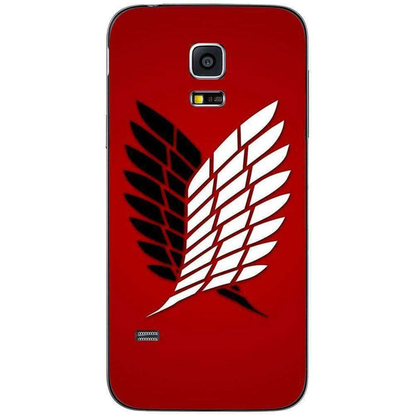 Phone Case Attack On The Titan Red SAMSUNG Galaxy S5 Mini