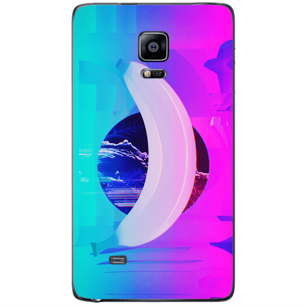 Phone Case Banana Glitch Art SAMSUNG Galaxy Note 4 Edge