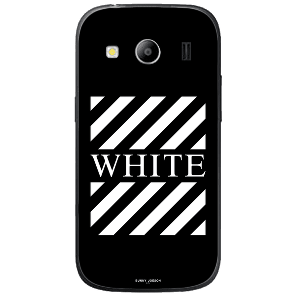 Phone Case Blach White Stripes SAMSUNG Galaxy Ace 4 Style