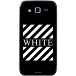 Phone Case Blach White Stripes SAMSUNG Galaxy Grand 2