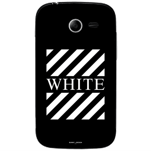 Phone Case Blach White Stripes SAMSUNG Galaxy Pocket 2