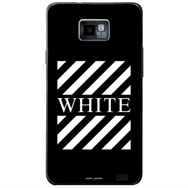 Phone Case Blach White Stripes SAMSUNG Galaxy S2