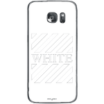Phone Case Blach White Stripes SAMSUNG Galaxy S7