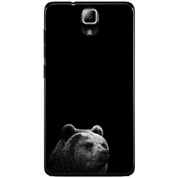 Phone Case Black Bear Lenovo A536