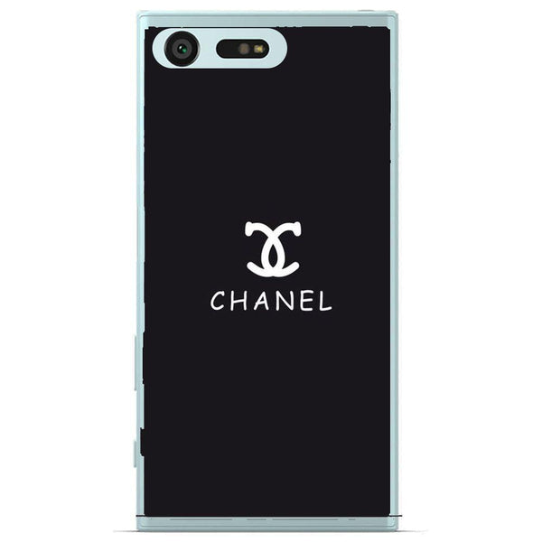 Phone Case Black Chanel Sony Xperia X Compact
