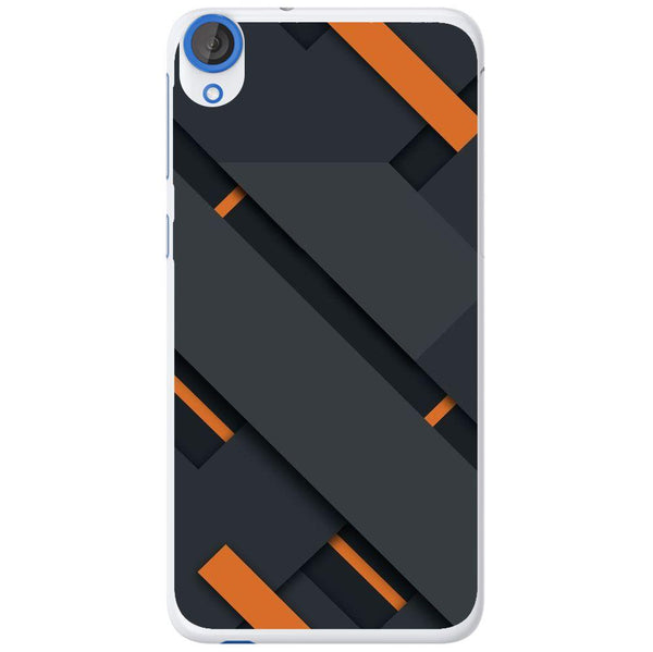 Phone Case Black And Orange HTC Desire 820