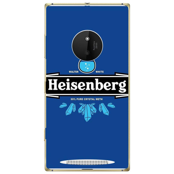 Phone Case Blue Heisenberg Nokia Lumia 830